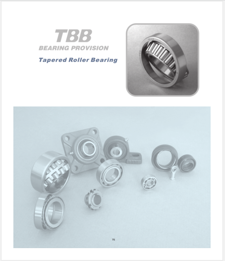 TBB Catalogue-Tapered Roller Bearing.pdf