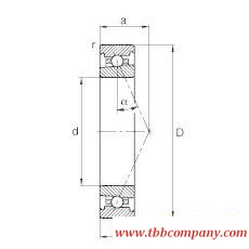 HS7008-E-T-P4S Spindle Bearing