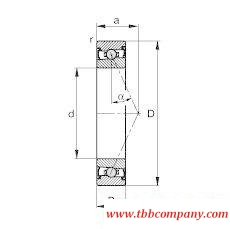 HCS7004-E-T-P4S Spindle Bearing