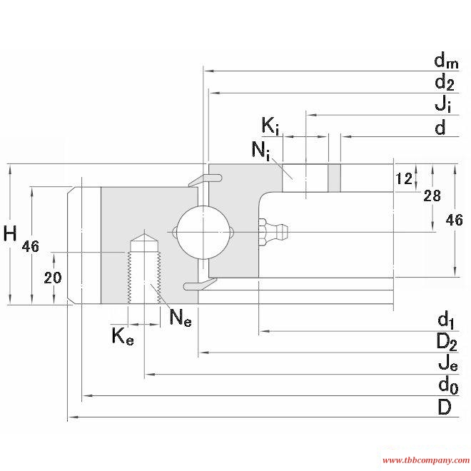 RKS.21 0411 Slewing bearing
