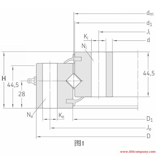 RKS.160.16.1204 Slewing bearing