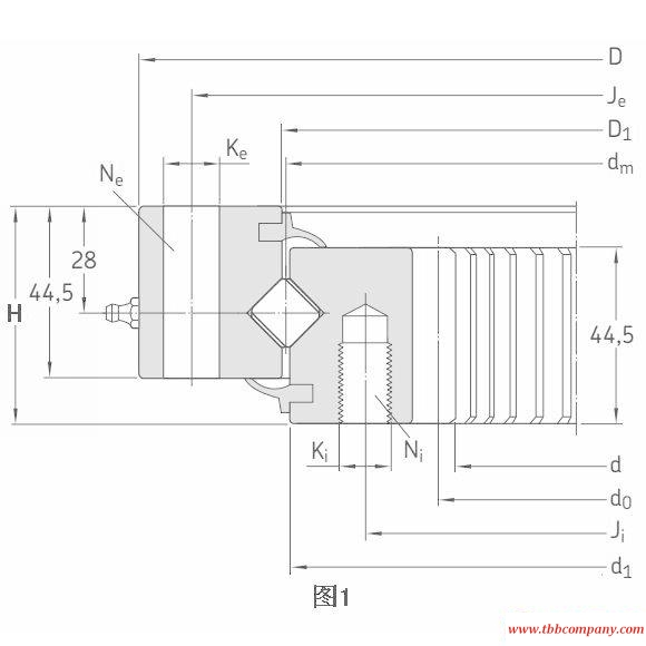 RKS.162.14.0544 Slewing bearing