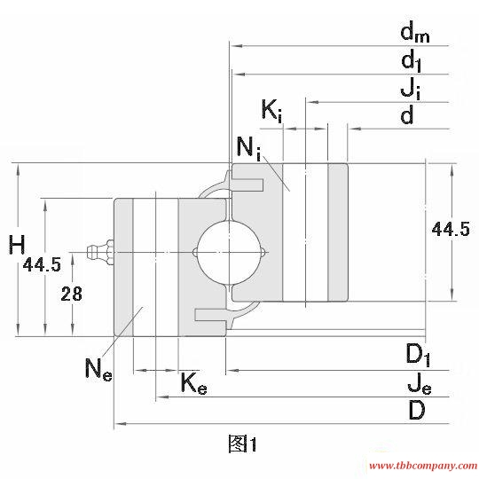 RKS.060.25.1424 Slewing bearing
