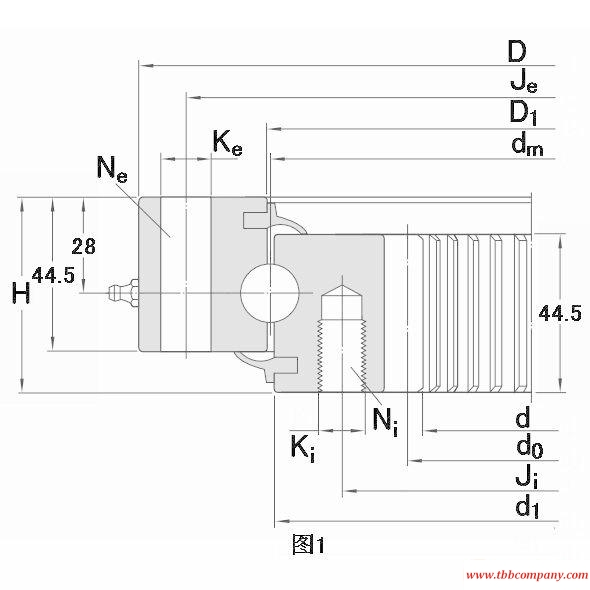 RKS.062.25.1424 Slewing bearing