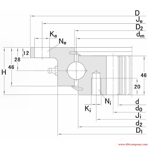 RKS.22 0841 Slewing bearing