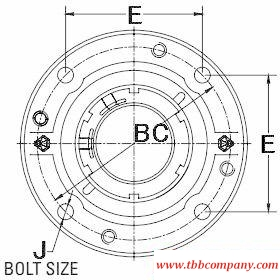 QVVCW19V090S Mounted spherical roller bearing