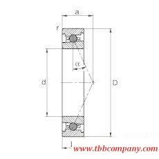 HC71916-E-T-P4S Spindle Bearing