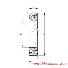 HCS71916-C-T-P4S Spindle Bearing