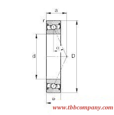 HSS71917-E-T-P4S Spindle Bearing