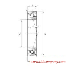 HS71921-C-T-P4S Spindle Bearing